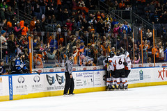 "Missouri Mavericks vs. Wichita Thunder, January 7, 2017, Silverstein Eye Centers Arena, Independence, Missouri.  Photo: John Howe / Howe Creative Photography • <a style=""font-size:0.8em;"" href=""http://www.flickr.com/photos/134016632@N02/32129252201/"" target=""_blank"">View on Flickr</a>"
