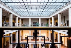 Symmetrical View (*Capture the Moment*) Tags: 2017 architecture atrium dach fotowalk glas häuserwohnungen innen innenarchitektur interiordesign munich münchen roof sonya7m2 sonya7mii sonya7mark2 sonya7ii sonyfe1635mmf4zaoss sonyilce7m2 stefan stefan2017 zentralinstitutfürkunstgeschichte ehemaligerverwaltungsbaudernsdap formeradministrativebuildingofthenationalsocialistparty