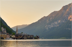 Hallstatt (jos.pannekoek) Tags: austria oostenrijk hallstatt landscape landschap d7000 nikkor1755f28 sunset zonsondergang