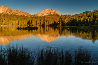 Lassen peak @ a national park
