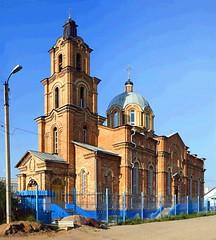 Октябрьская церковь
