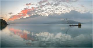 Peaceful Sun Moon Lake