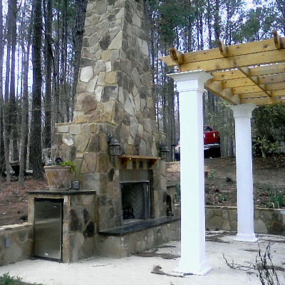 Outdoor Fireplace - Southern Hearth & Patio