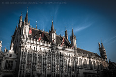 City Hall, Bruges [5761] (josefrancisco.salgado) Tags: architecture arquitectura nikon europa europe belgium cityhall brugge bruges nikkor brujas stadhuis d4 2470mmf28g blgica