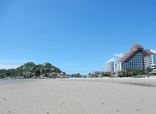 The End of Hua Hin Beach