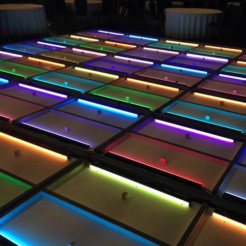 Custom LED Dance Floor