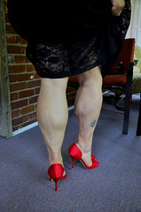 _DSC0022jj (ARDENT PHOTOGRAPHER) Tags: woman female highheels muscular veins calves flexing veiny muscularwoman