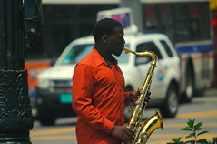 State Street Musician (Cragin Spring) Tags: city people urban musician music usa chicago man corner illinois midwest downtown unitedstates loop unitedstatesofamerica chitown il chicagoloop statestreet streetmusician chicagoillinois chicagoil windycity