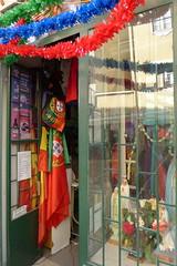 viva portugal! (valeriadalua) Tags: street decorations portugal shop lisboa lisbon flag saints festas stanthony sardinhas santoantnio festasjuninas santoantniodelisboa festasdelisboa