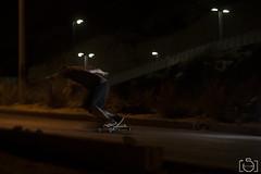Edu (Sento MM) Tags: noche flash downhill alicante longboard villacondon