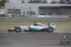 Lewis in the Wet - Silverstone (Jigsaw-Photography-UK) Tags: cars wet rain race mercedes hamilton lewis f1 racing formulaone