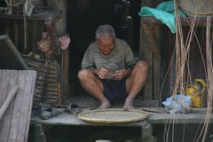 Local trademan, Borneo, Malaysia