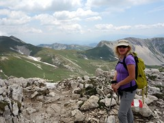 "Edita at Sella del Brecciaio on descent • <a style=""font-size:0.8em;"" href=""http://www.flickr.com/photos/41849531@N04/19719958206/"" target=""_blank"">View on Flickr</a>"