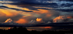 Whispering sunsets (Captions by Nica... (Fieger Photography)) Tags: sunset sky cloud canada storm nature weather clouds quebec outdoor dusk mpdquebec