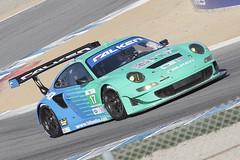 Falken Porsche 997 GT3-RSR (KennethBartonMotorsport) Tags: monterey 911 racing porsche autoracing falken sportscar motorsport alms gt3 997 imsa americanlemansseries rsr sportscarracing kennethbarton teamfalken wolfhenzler bryanseller
