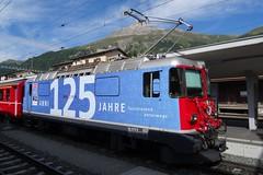 RhB Electric locomotive Ge 4/4 II 623. (Franky De Witte - Ferroequinologist) Tags: de eisenbahn railway estrada chemin fer spoorwegen ferrocarril ferro ferrovia