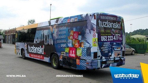 Info Media Group - Tuzlanski.ba, BUS Outdoor Advertising, Tuzla 05-2015 (2)