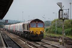 No 66074 16th July 2015 Westbury (Ian Sharman 1963) Tags: english station train diesel no shed engine july scottish rail railway loco trains 66 class locomotive welsh 16th railways westbury 2015 ews railfreight 66074