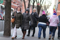 People on the 49th Street sidewalk between 8th and 9th Avenues. (kevinrubin) Tags: newyork unitedstates us