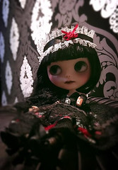 Hayami preparing for Christmas (Blythe.fest2017) Tags: blythefest2017 blythedoll traveldoll travellingblythe christmasblythe