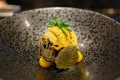 Bibimbap, Hkkaido Uni, Kimchi, Seaweed (Premshree Pillai) Tags: singapore singaporesep16 meta restaurant dinner dinnerforone tastingmenu food modernkorean