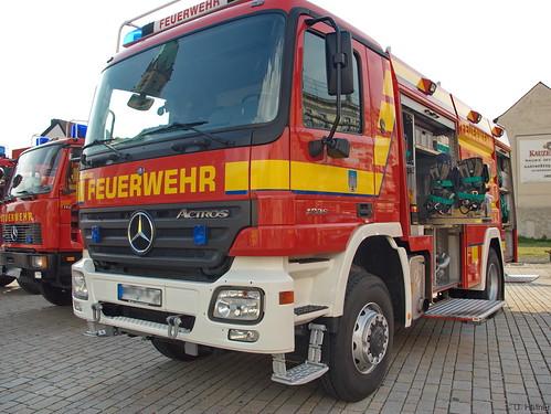2005 Tanklöschfahrzeug (TLF 24-50) Mercedes Benz 1836 Freiwillige Feuerwehr Meiningen