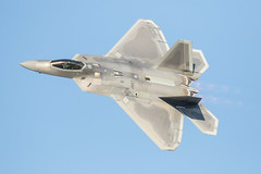BAM... (4myrrh1) Tags: f22 raptor airforce military fighter flight flightdemonstrationsquadron flightdemonstrationteam usaf aircraft airplane aviation airshow airport airplanes pax river md 2016 canon ef100400l 7dii