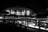 Thr Last Train (dlerps) Tags: hamburg germany de lerps daniellerps sony sonyalpha sigma a77 sonyalphaa77 sonyalpha77 sonya77 europe europa deutschland city urban train trainstation centralstation hauptbahnhof bahnhof bahn zug regionalbahn traffic longexposure night bw blackwhite transport platform lights light philips bridge northerngermany monochrome publictransport