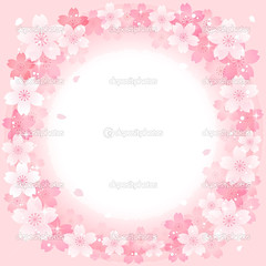 Spring Pink Cherry Blossoms Circle background (matheusvicto4) Tags: cherryblossoms sakura bloom spring blooming blossom pink petals shine shining blight springtime designelement flowers background plant beautiful circle scattered droplet japanese japan white seasonal season happy nobody natural transparent palecolor nature someiyoshino yoshinocherry vector square frame illustration