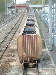 HTA 051115 (6) (Transrail) Tags: hta bogie hopper wagon ews didcot coal powerstation