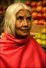 Soul.  Ooty (Claire Pismont) Tags: asia asie inde india travel travelphotography tamilnadu woman soul red pismont portrait clairepismont market fruit