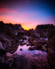Light Pool (Augmented Reality Images (Getty Contributor)) Tags: clouds coastline colours findochty landscape leefilters longexposure morayshire morning pool rocks scotland seascape sunset water