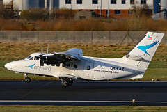 OK-LAZ (GH@BHD) Tags: oklaz let let410 l410 vanaireurope citywing turboprop turbolet bhd egac belfastcityairport aircraft airliner aviation