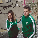 NK Olimpija. Model Maja in Nik Kapun. Photo SPS