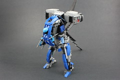 KYCER YG-85 (quý) Tags: lego robot mech gundam weapon war gun booster sword mecha