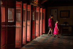Red.  Hue (Claire Pismont) Tags: asie asia pismont clairepismont colorful couleur colour color red rouge door pink light lightandshadow documentory travel travelphotography travelshot viajar voyage hue vitnam