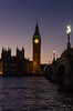 Westminster (D1g1tal Eye) Tags: westminsterpalace bridge parliament tower clock bigben elizabethtower london river thames water dusk skyline nikond7000 tamron1750mm