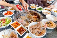 เนื้อย่างสไตล์เกาหลี ของแท้ต้นตำรับ ต้องมาลองที่ร้านดูเร Doorae BeeHive เมืองทองธานี