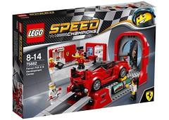 LEGO Speed Champions 75882 - Ferrari FXX K & Development Center (THE BRICK TIME Team) Tags: lego brick 2017 speed champions racer