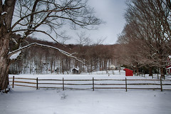 The-Empty-Corral (desouto) Tags: nature landscape rivers lakes snow ice sky trees sunrise sunset colors