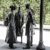 George Segal, Chance Meeting, 1989 (Sharon Mollerus) Tags: sanfranciscomuseumofmodernart sanfrancisco california unitedstates cf17