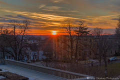 Burn (Vintus Okonkwo fotografi) Tags: tufts university sunset red sky clouds buildings urban college winter semester exposure blending high dynamic range hdr landscape cityscape 70d canon explore discover upcoming popular dramatic rays