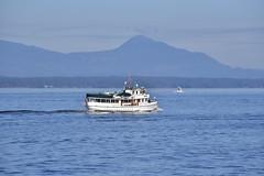 Malibu (D70) Tags: trincomali channel galiano island bc canada malibu pleasure craft vessel wooden classic boat