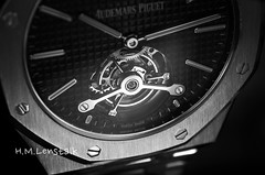 L1006510 (H.M.Lenßtalk) Tags: leica t typ 701 macro apo elmarit tl 60mm 60 12860 asph apomacroelmarittl stilllife product watch time timepiece uhren zeit ap royaloak audemarspiguet tourbillon