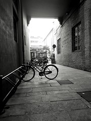 IMG_1481193368382 (Florindo Balkan) Tags: urban city contrast architecture blackandwhite wideangle noir mistery fog italy metaphysics