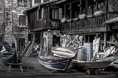 The workshop (sandroscatto) Tags: venice italia gondola craftsman workshop tradition italy venezia boats 5d canon crafts