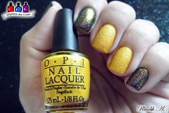 You're so Flippy-Floppy - OPI + 05 - BK (Raabh Aquino) Tags: unhas esmaltes liquidsand opi amarelo multichrome nails nailpolish yellow