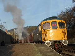 Kingsley and Froghall (ee20213) Tags: kingsleyandfroghall 33102 churnetvalleyrailway d6513 class33 brblue 331