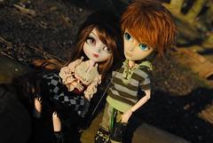 .: Luan & Zack :. (.: Miho :.) Tags: pullip pullipdoll doll dolls dollphotography taeyang taeyangdoll andrew aurora steampunk obitsu alura koichi custo custom junplanning groove groovedoll