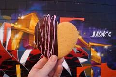 Cookie Love (drew*in*chicago) Tags: chicago 2017 street art artist paint painting paper pilsen westloop